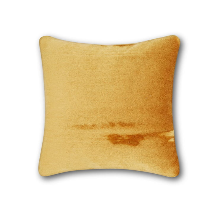 Soft cushion by Tom Dixon, 43 x 43 cm in ochre
