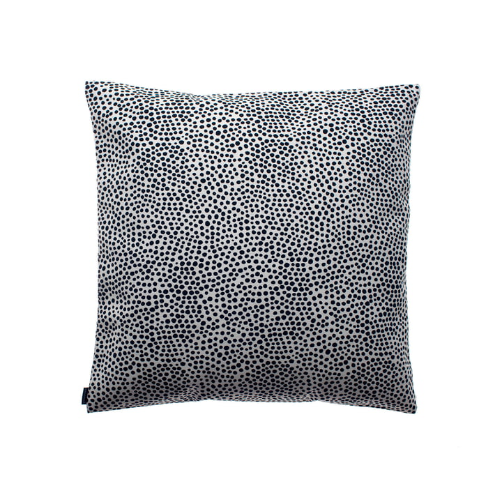 Pirput Parput cushion cover by Marimekko, 50 x 50 cm in black / white