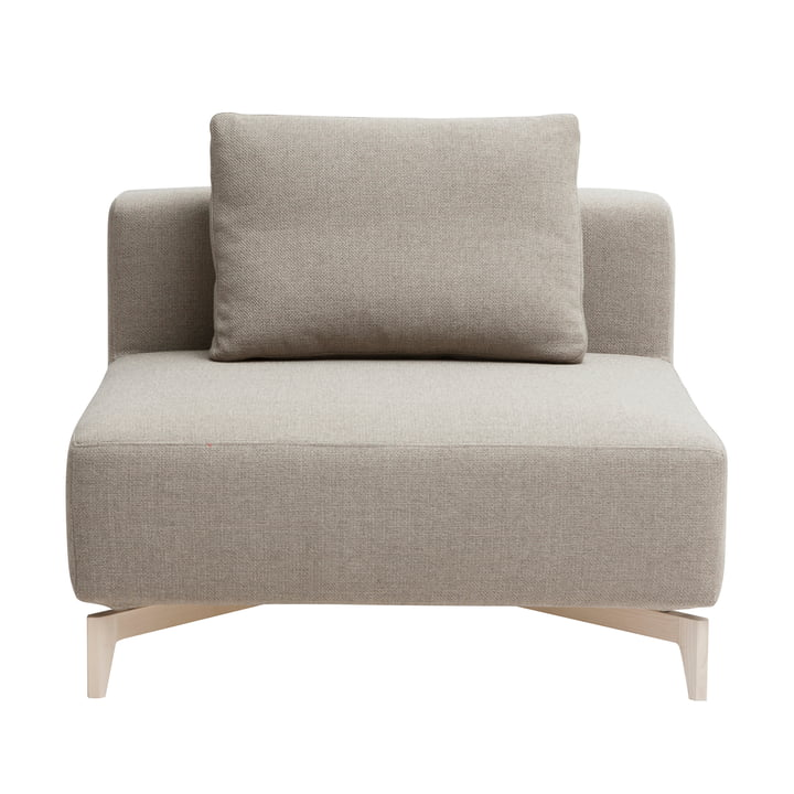 Passion modular sofa, single element, Vision beige (446) by Softline