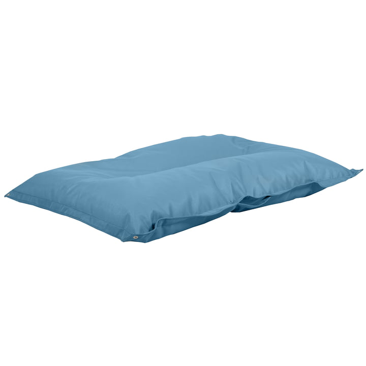 Float swimming cushion in sea blue from Fiam