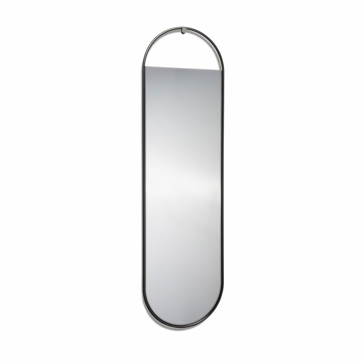 Peek wall mirror, 140 x 40 cm in black by Northern
