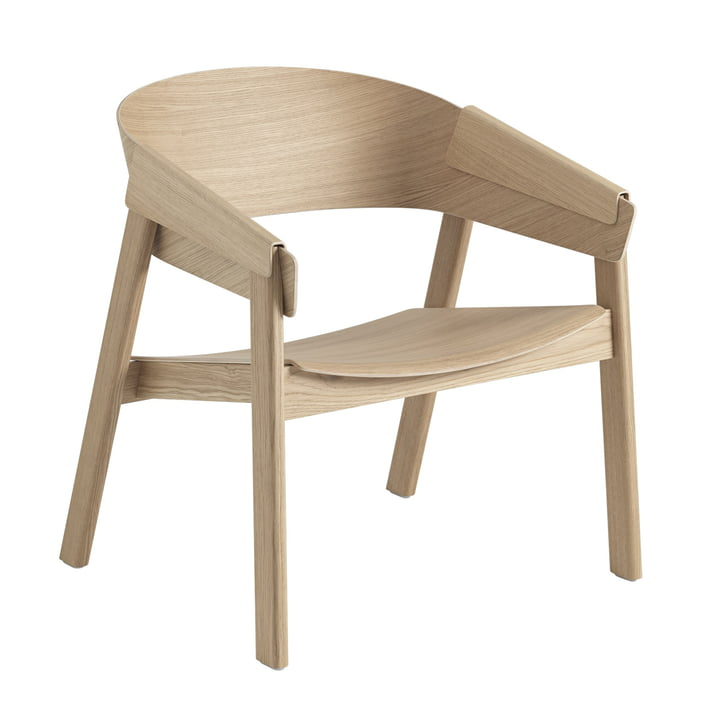 Cover Lounge Chair in oak by Muuto
