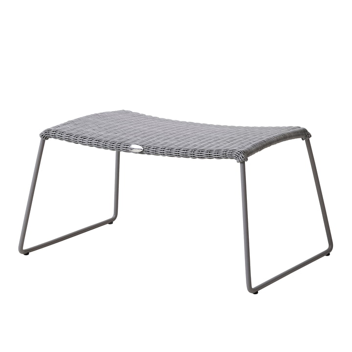 Breeze Stool (5369) from Cane-line in light grey