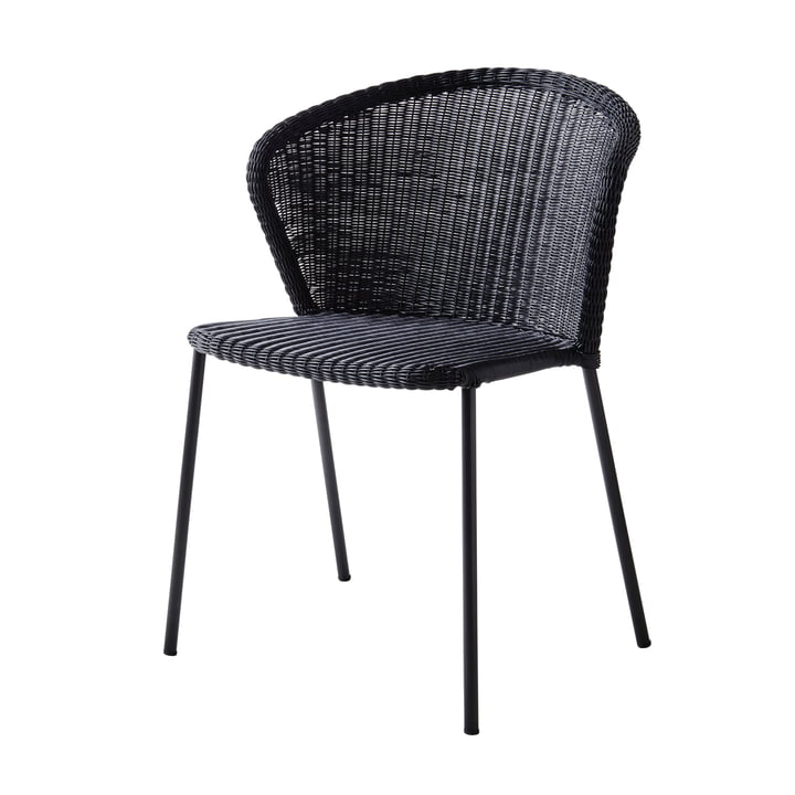 Lean Chair (5410) from Cane-line in black