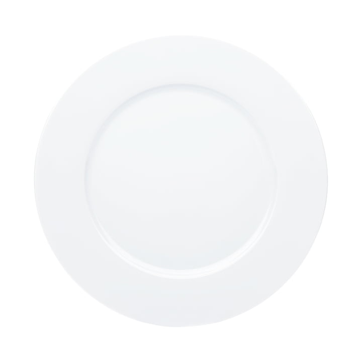 Aronda dining plate Ø 27 cm in white from Kahla