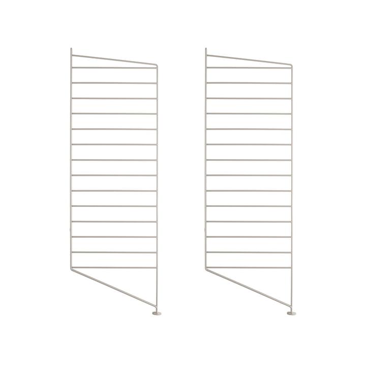 Floor ladder for String shelf 85 x 30 cm (set of 2) from String in beige