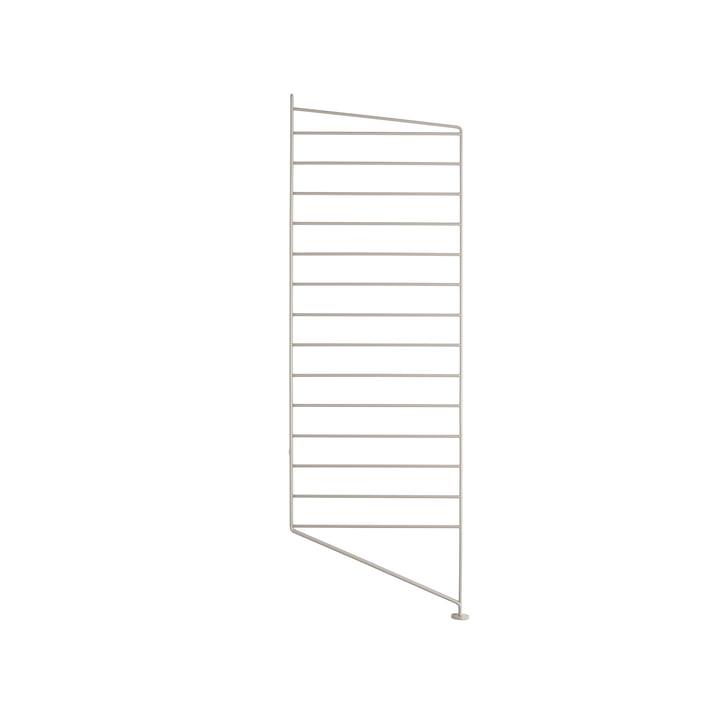 Floor ladder for String shelf 85 x 30 cm from String in beige