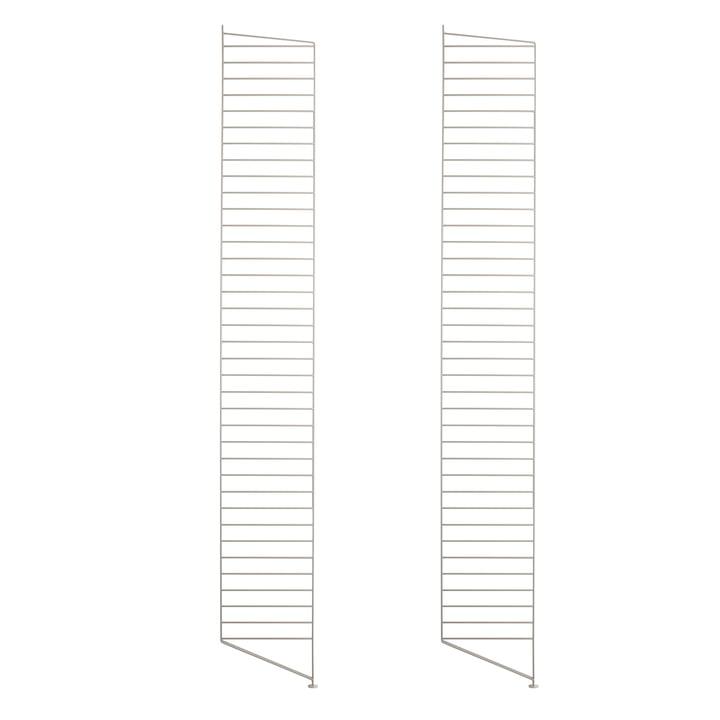 Floor ladder for String shelf 200 x 30 cm (set of 2) from String in beige