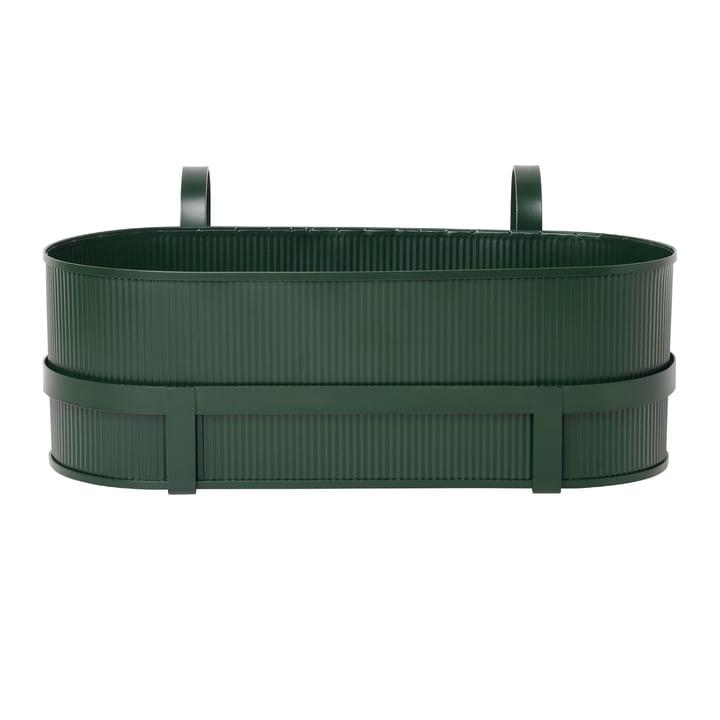 Construction Balcony Box from ferm Living in dark green