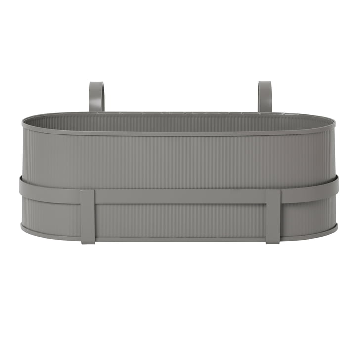 Building Balcony Box from ferm Living in warm grey