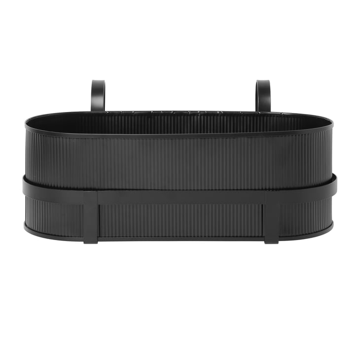 Construction Balcony Box from ferm Living in black