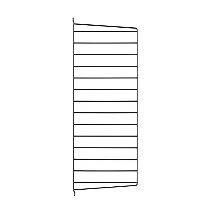 String - wall panel for String shelf 75 cm, black
