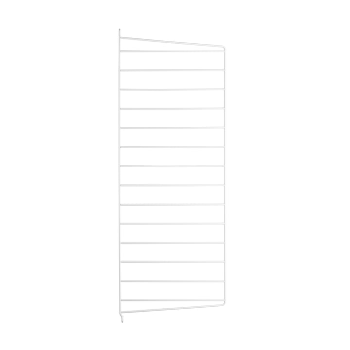 String - wall panel for String shelf 75 cm, white