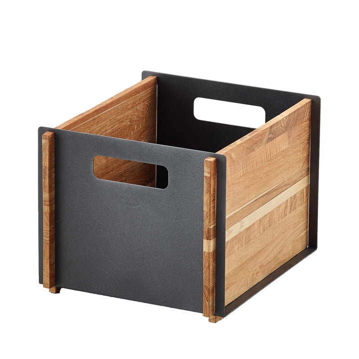 Box Storage box from Cane-line in teak / lava grey
