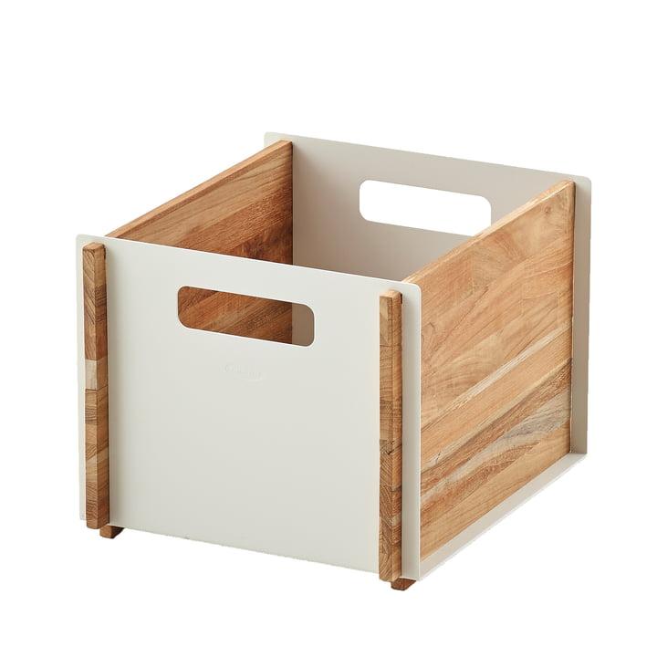 Box Storage box from Cane-line in teak / white