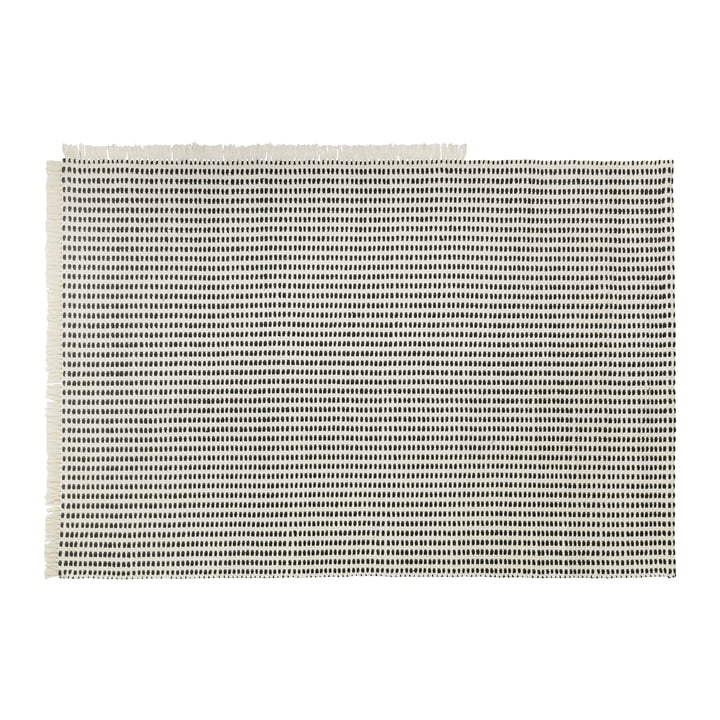 Way Outdoor carpet, 140 x 200 cm in off-white / blue by ferm Living