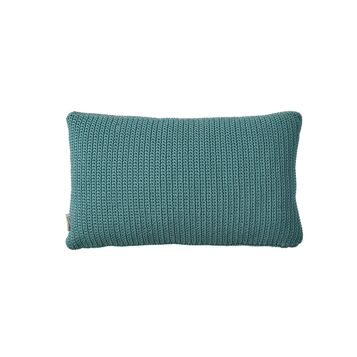 Divine outdoor cushion 32 x 52 cm from Cane-line in turquoise