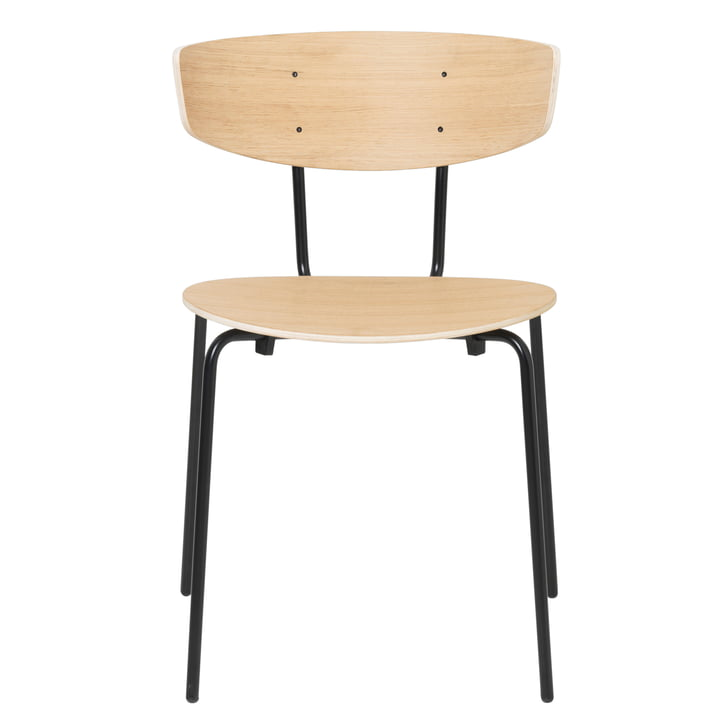 Herman Chair, oak / black by ferm Living