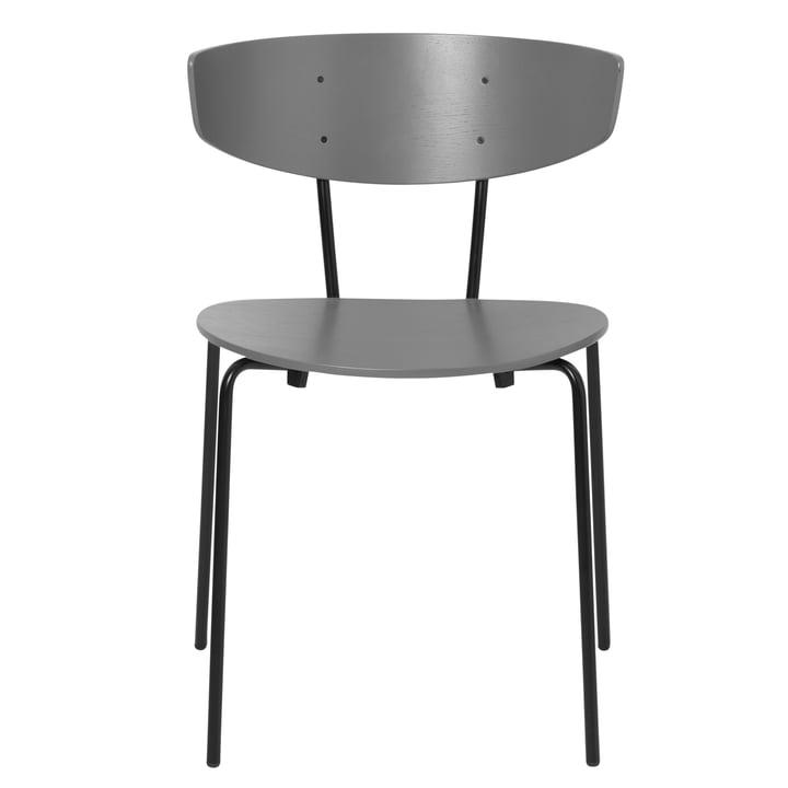 Herman Chair, warm grey / black by ferm Living