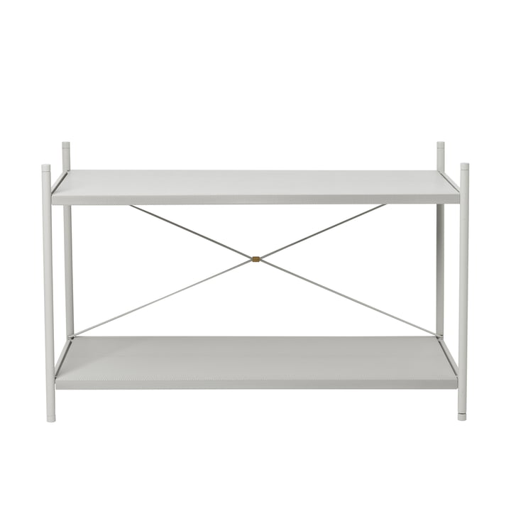 Punctual shelving system 1x2 in grey from ferm Living