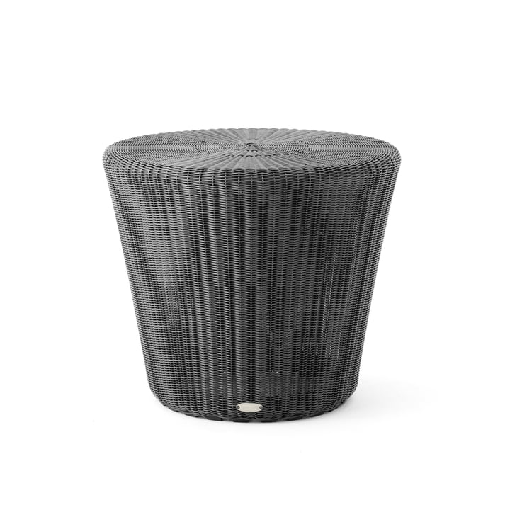 Kingston Side table / stool (5348) Ø 46 x H 38 cm from Cane-line in graphite
