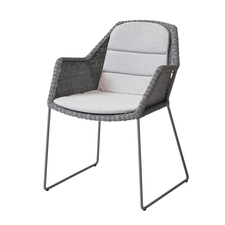 seat cover for Breeze armchair (5467) from Cane-line in light grey
