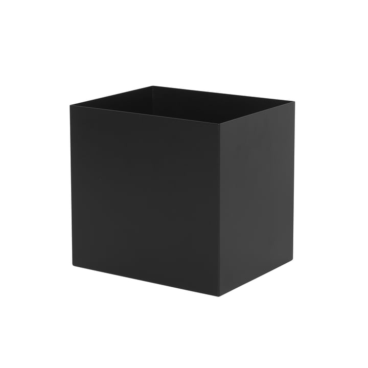 Container for Plant Box in black from ferm Living