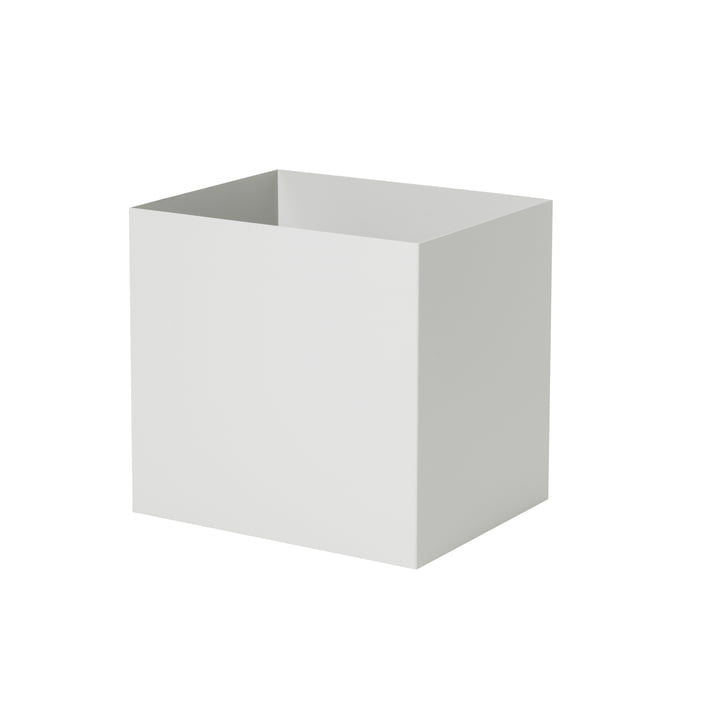 Container for Plant Box in light grey by ferm Living