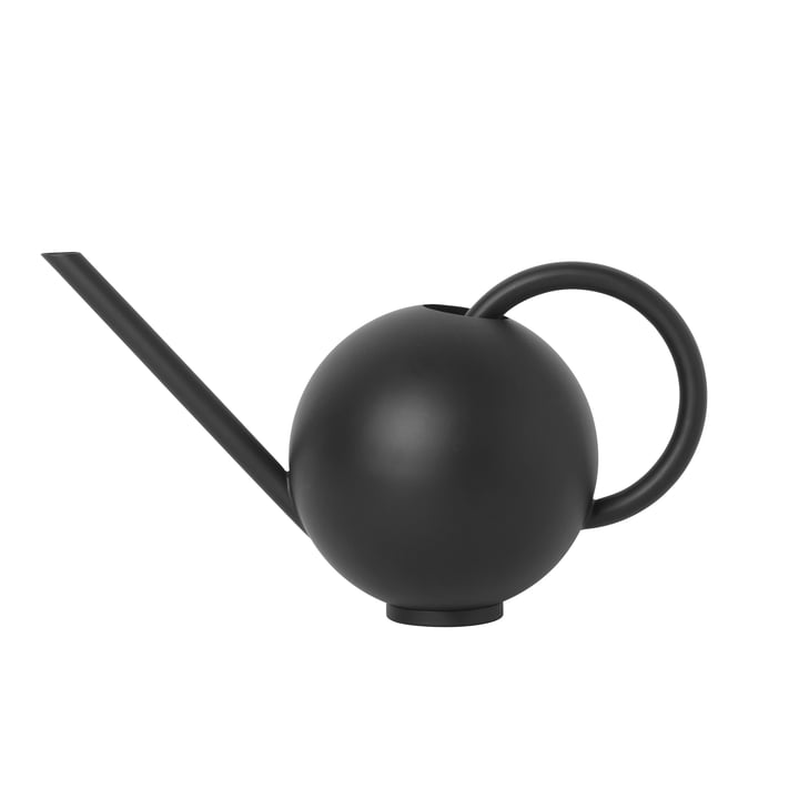 Orb watering can, 2 L in black from ferm Living