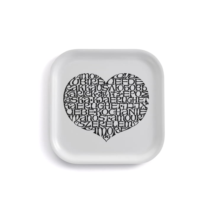 Classic Tray small International Love Heart by Vitra