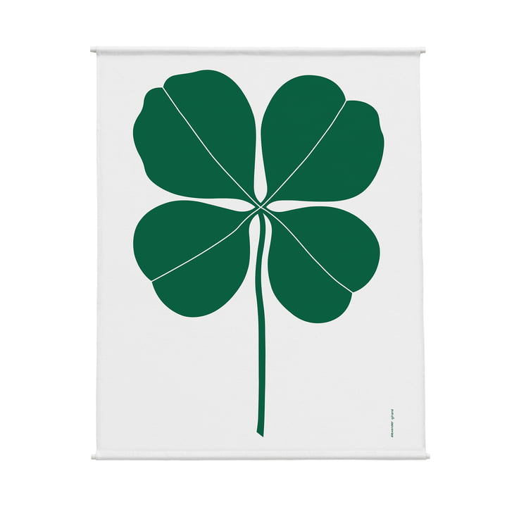 Environmental Wall Hanging Wall Panel 83 x 117 cm Four Leaf Clover by Vitra