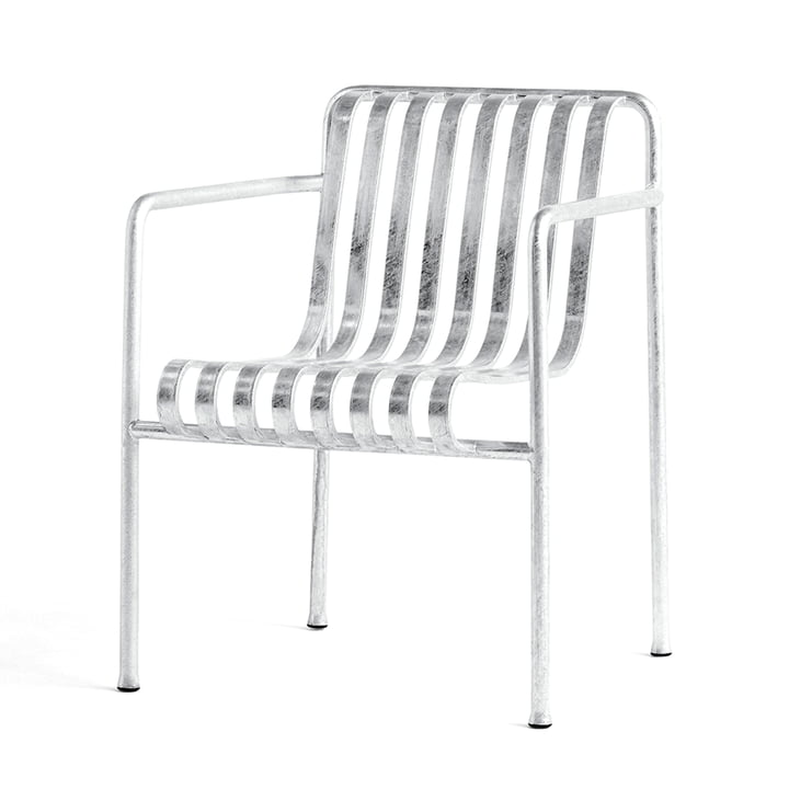 Palissade Dining Armchair from Hay in hot galvanised