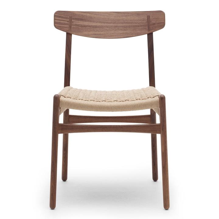 CH23 Chair from Carl Hansen in walnut oiled / natural wickerwork
