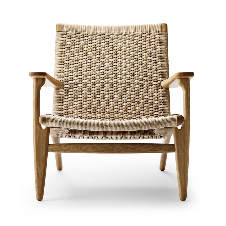 CH25 armchair by Carl Hansen in oak oiled / nature