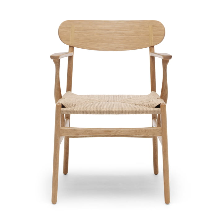 CH26 Armchair from Carl Hansen in oak oiled / nature