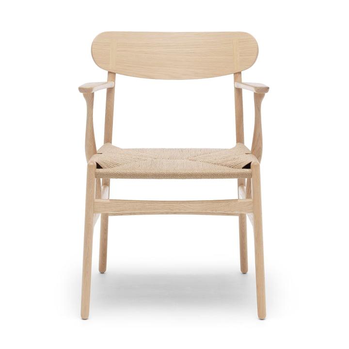 CH26 Armchair from Carl Hansen in oak soap / nature