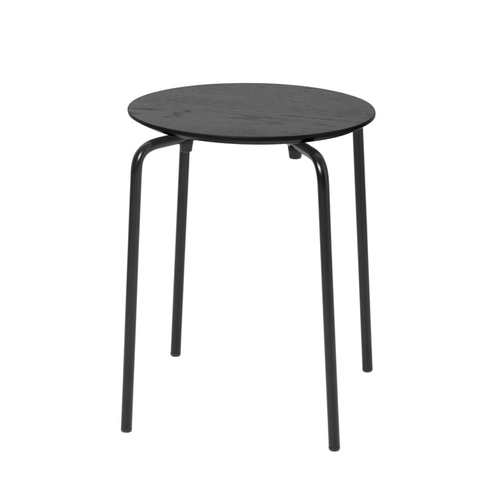 Herman stool from ferm Living in black