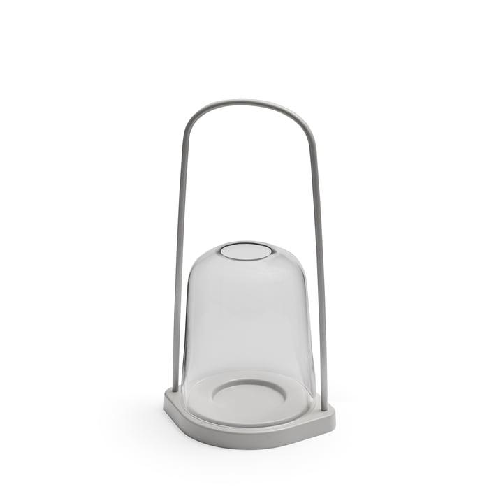 Bell Lantern Ø 15 x H 36 cm from Skagerak in light grey