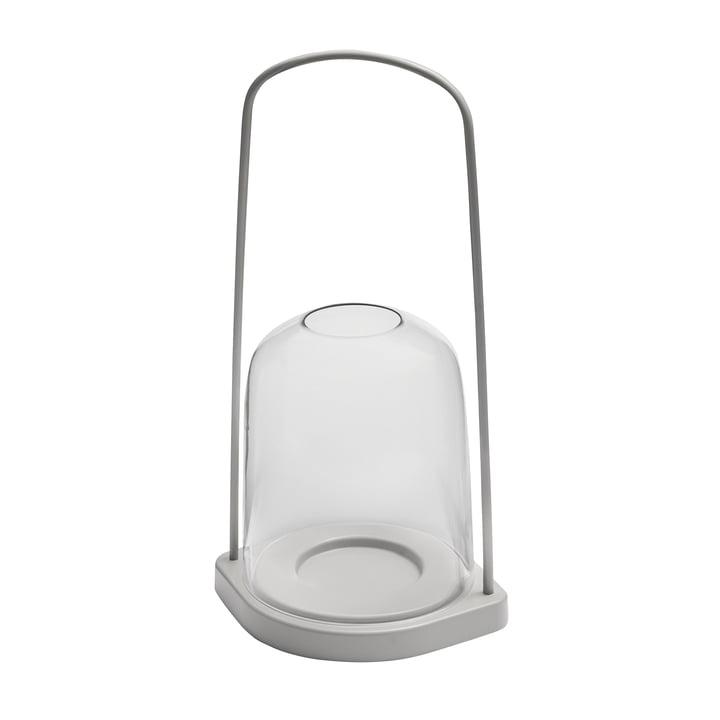 Bell Lantern Ø 25 x H 60 cm from Skagerak in light grey