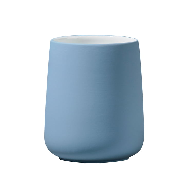 Nova toothbrush cup from Zone Denmark in blue fog