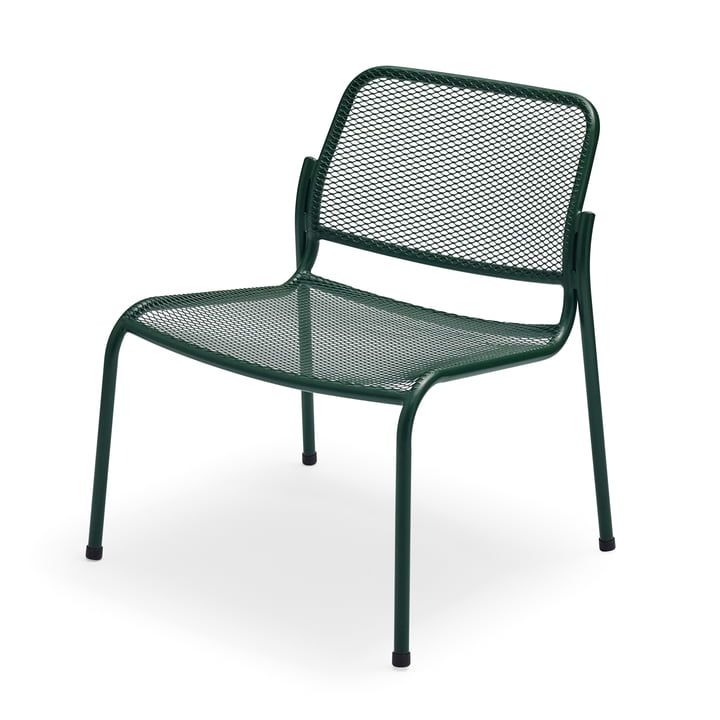 Mira Lounge Chair by Skagerak in hunting green