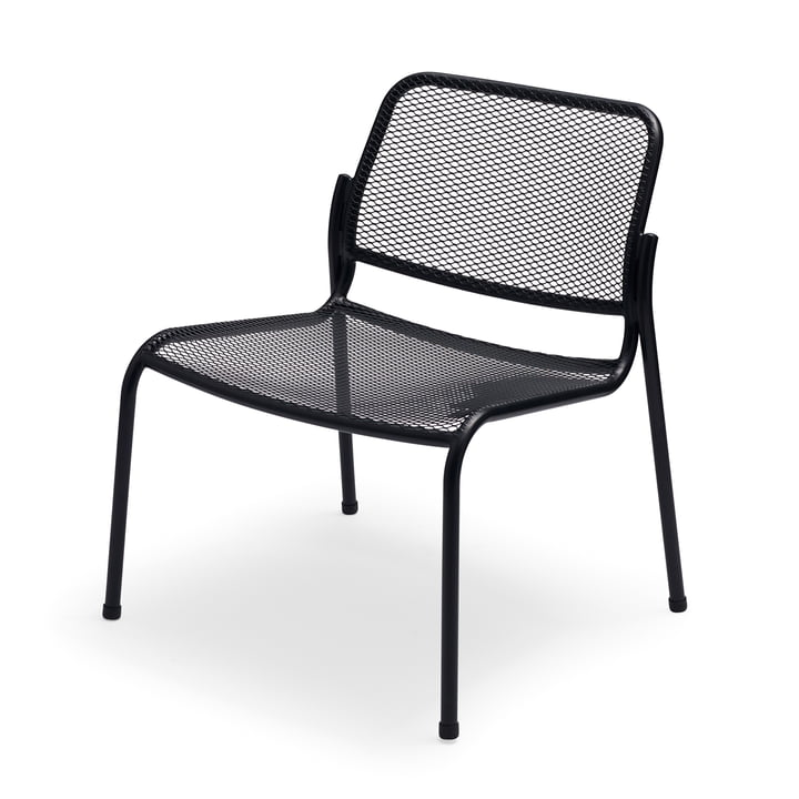 Mira Lounge Chair by Skagerak in anthracite
