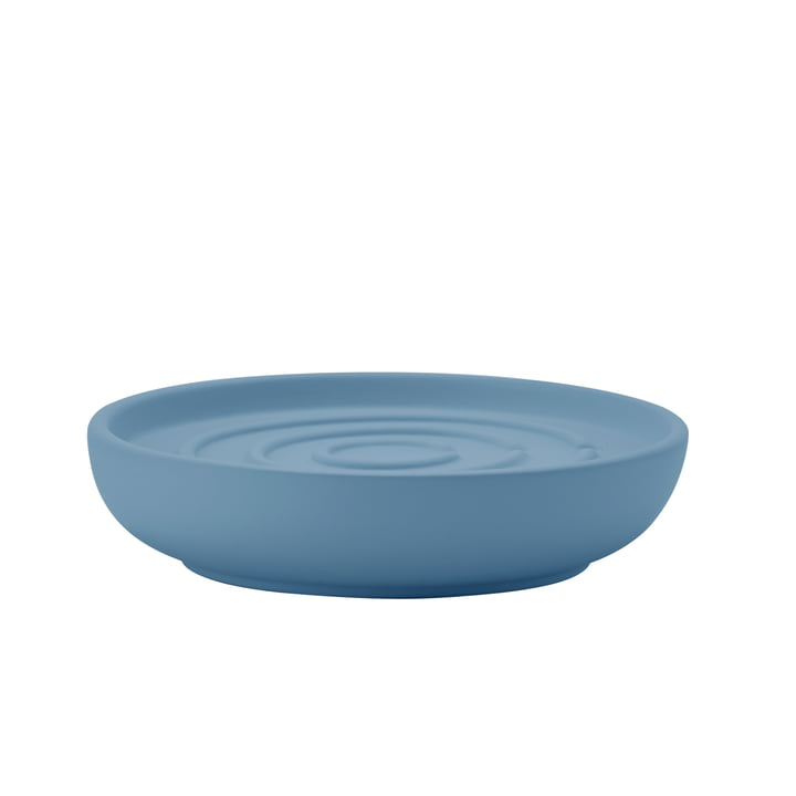 Nova soap dish in blue fog from Zone Denmark