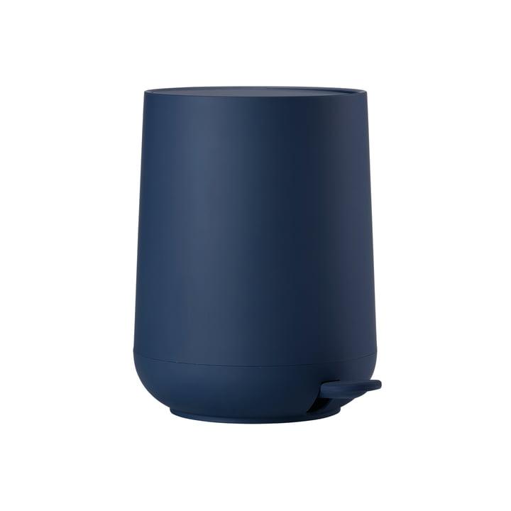 Nova pedal bin 3 L in royal blue from Zone Denmark