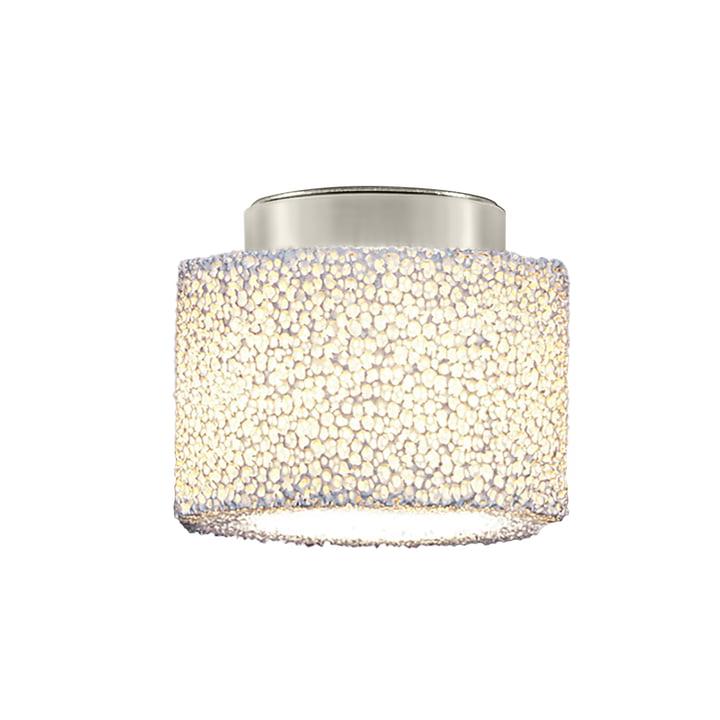 Reef LED ceiling light from serien.lighting brushed aluminium