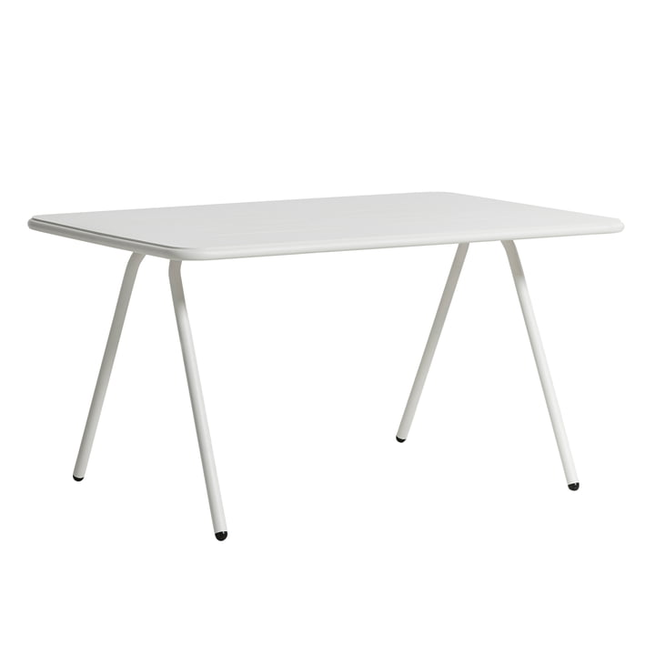 Ray dining table 140 cm from Woud in white