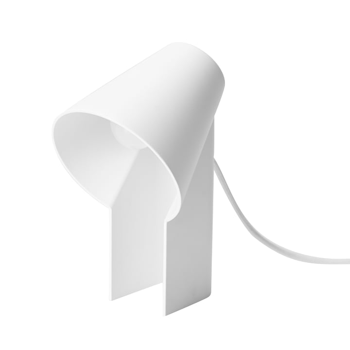 Study table lamp from Woud in white