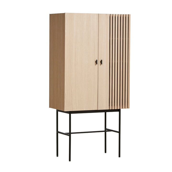 Array Highboard 80 cm in oak by Woud