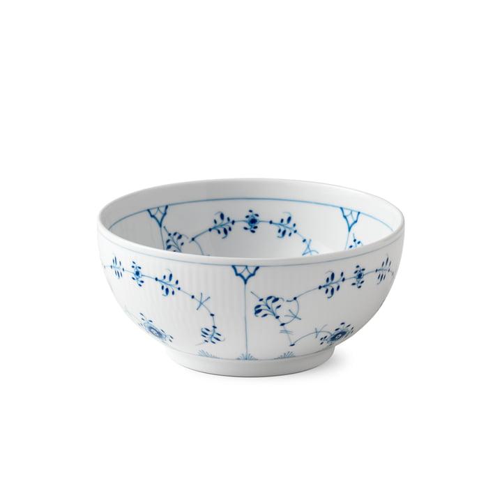 Musselmalet Ribbed bowl Ø 18 cm from Royal Copenhagen