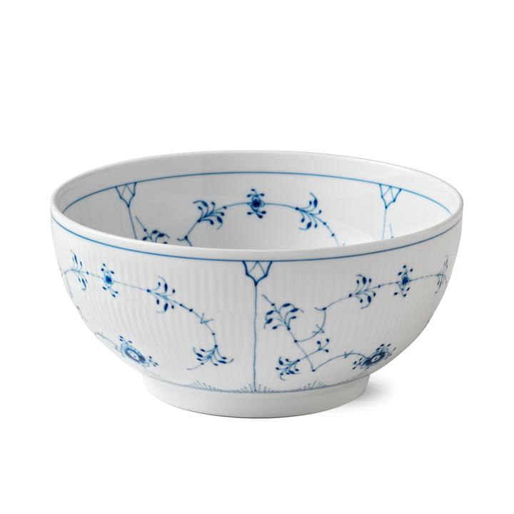 Musselmalet Ribbed Bowl Ø 24 cm from Royal Copenhagen